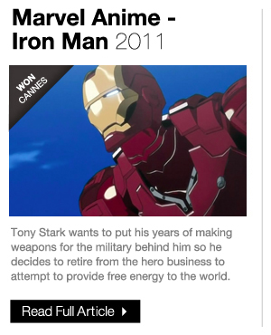 Marvel Anime Iron Man