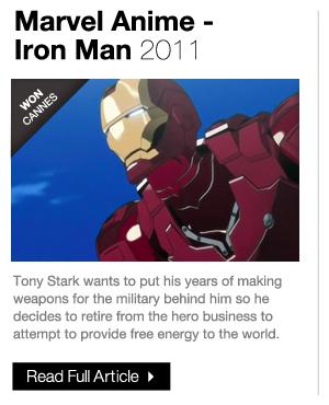 Marvel Anime Iron Man