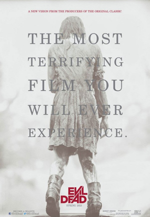 The Evil Dead 2013 Movie poster