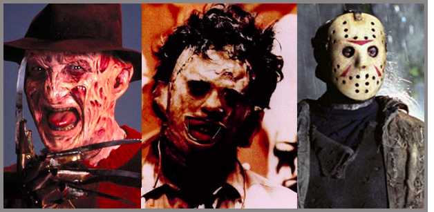 Freddy, Jason and Leatherface- The New Dracula Frankenstein and Wolfman_you-won-cannes