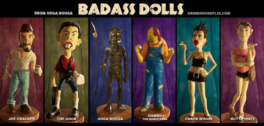 Full Moon's Ooga Booga Badass Dolls