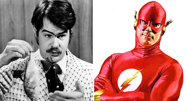 dan aykroyd as the flash