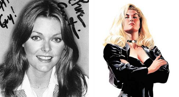 Jane Curtin as Black Canary