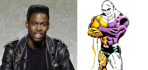 CHRIS ROCK AS METAMORPHO