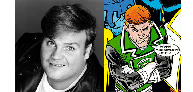 CHRIS FARLEY AS GUY GARDNER