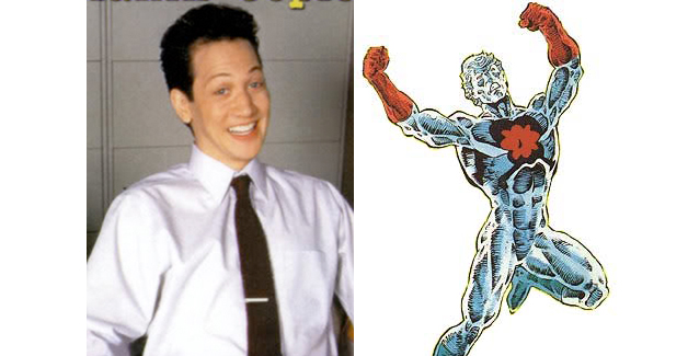 ROB SCHNEIDER AS CAPTAIN ATOM
