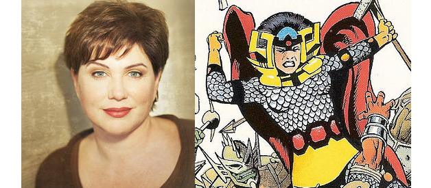 JULIA SWEENY AS BIG BARDA