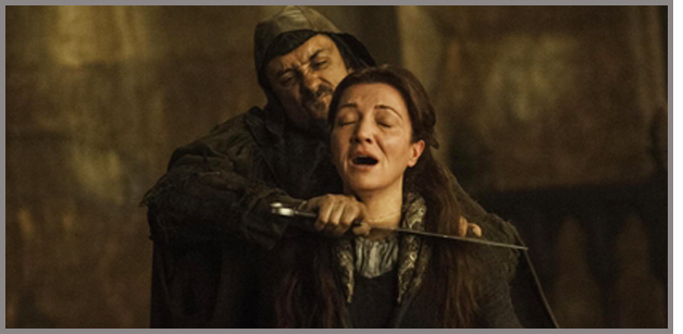 Game Of Thrones - the rains of castamere shows us why to value characters