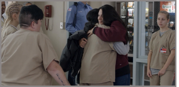 Orange Is The New Black: Hug Friends!