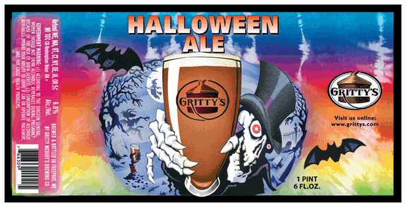 Gritty's Halloween Ale.