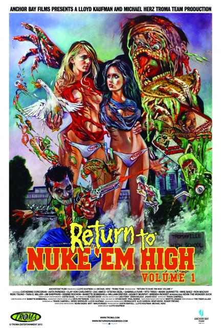 Return To Nuke Em High Premiere Poster