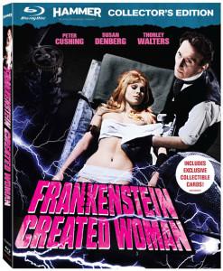 Frankenstein Created Woman Blu-ray Art