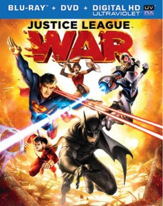 Justice League: War Blu-ray Art Front