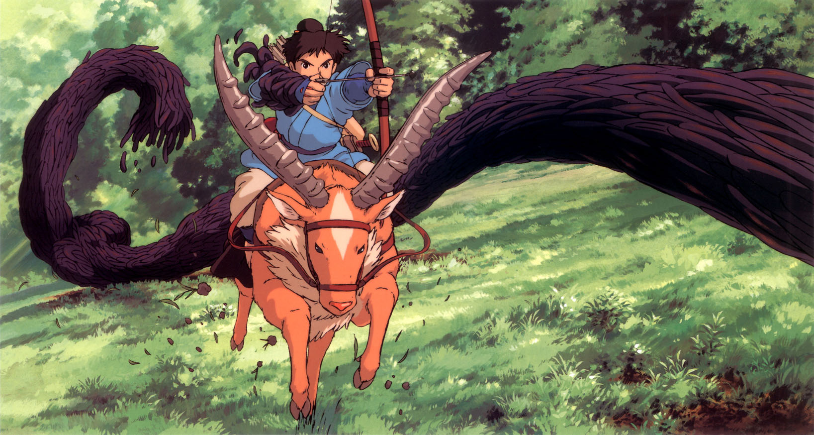 Blu Ray Review Princess Mononoke 1997 Dir Hayao Miyazaki You Won Cannes